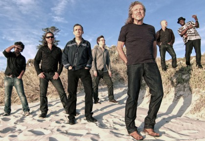 Robert Plant and Sensational Space Shifters at the Mohegan Sun Arena