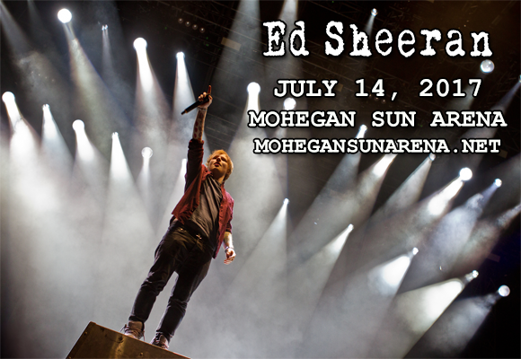 Ed Sheeran at Mohegan Sun Arena