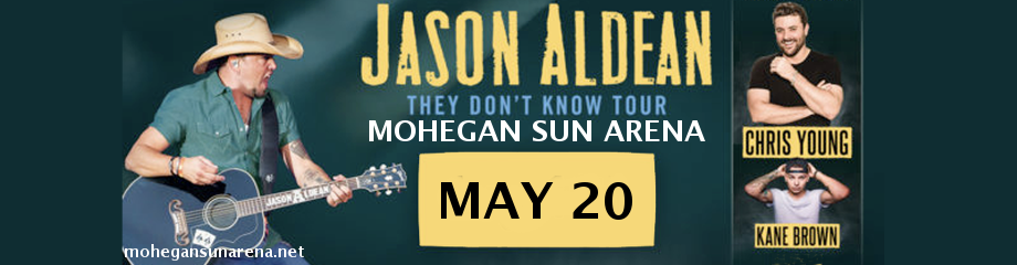 Jason Aldean, Chris Young & Kane Brown  at Mohegan Sun Arena
