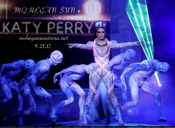 Katy Perry at Mohegan Sun Arena