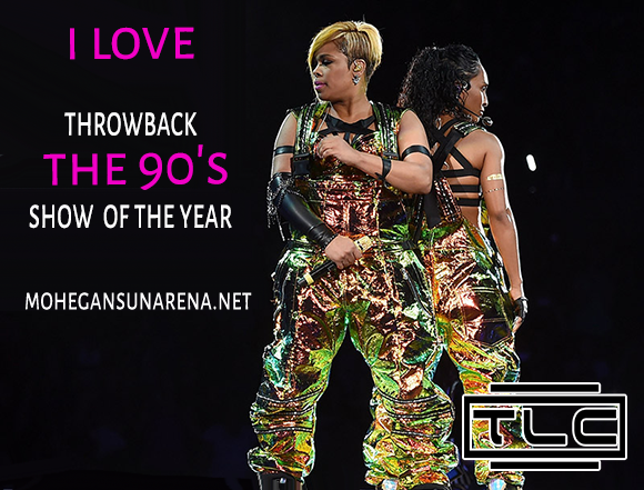 I Love The 90s: TLC, Montell Jordan, Color Me Badd, Coolio & Biz Markie at Mohegan Sun Arena