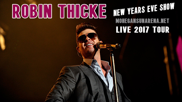 Robin Thicke at Mohegan Sun Arena