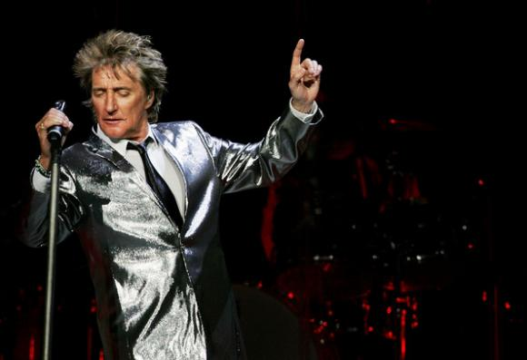 Rod Stewart at Mohegan Sun Arena
