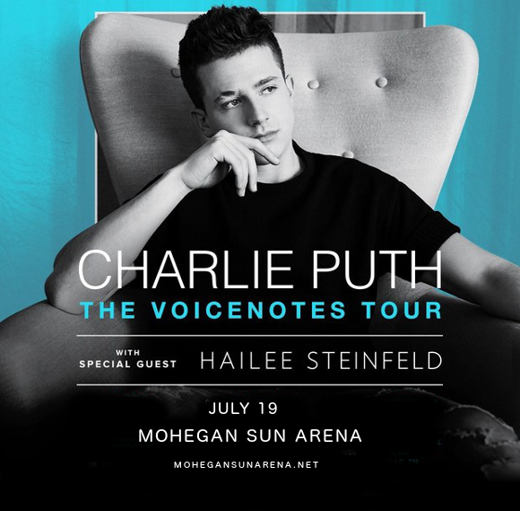 Charlie Puth & Hailee Steinfeld at Mohegan Sun Arena