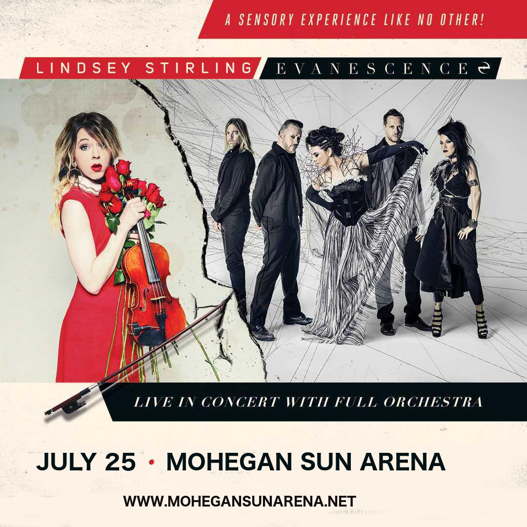 Lindsey Stirling & Evanescence at Mohegan Sun Arena