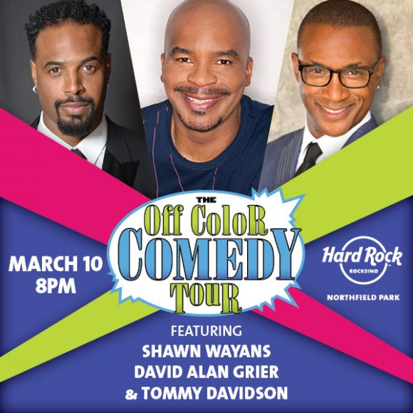 Off Color Comedy Tour at Mohegan Sun Arena