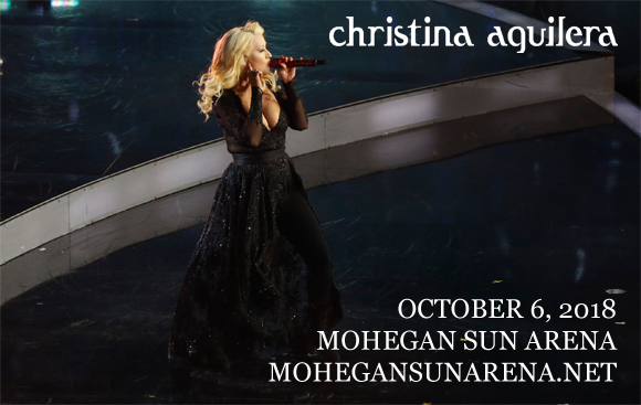 Christina Aguilera at Mohegan Sun Arena
