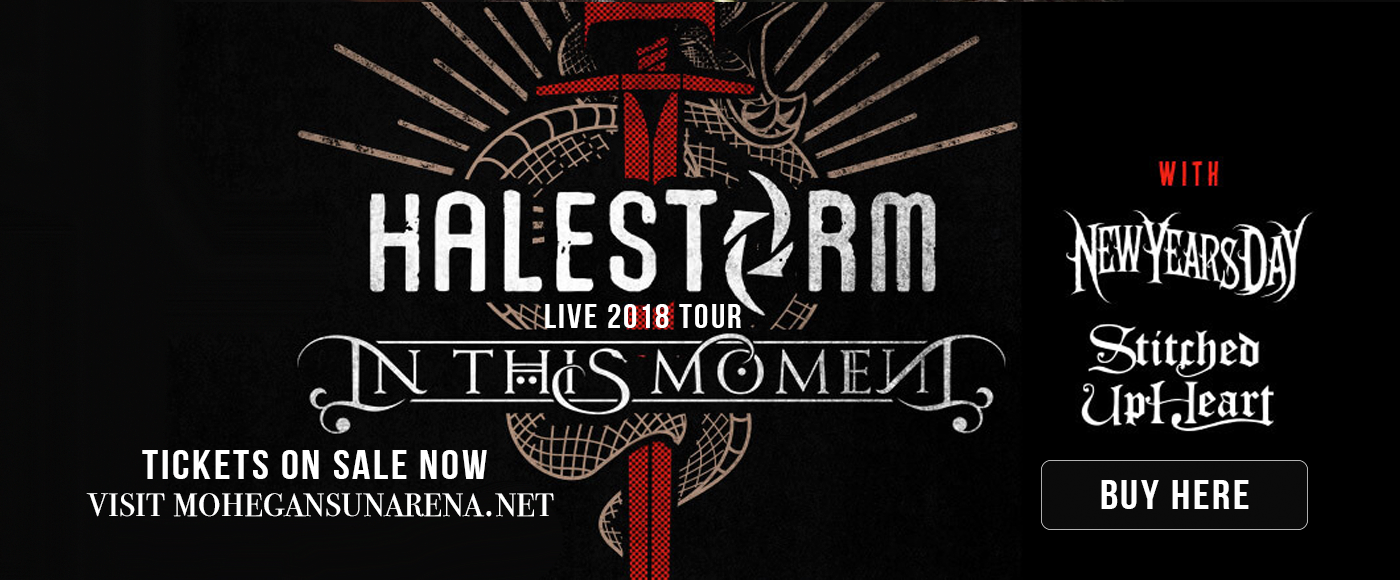 Halestorm & In This Moment at Mohegan Sun Arena