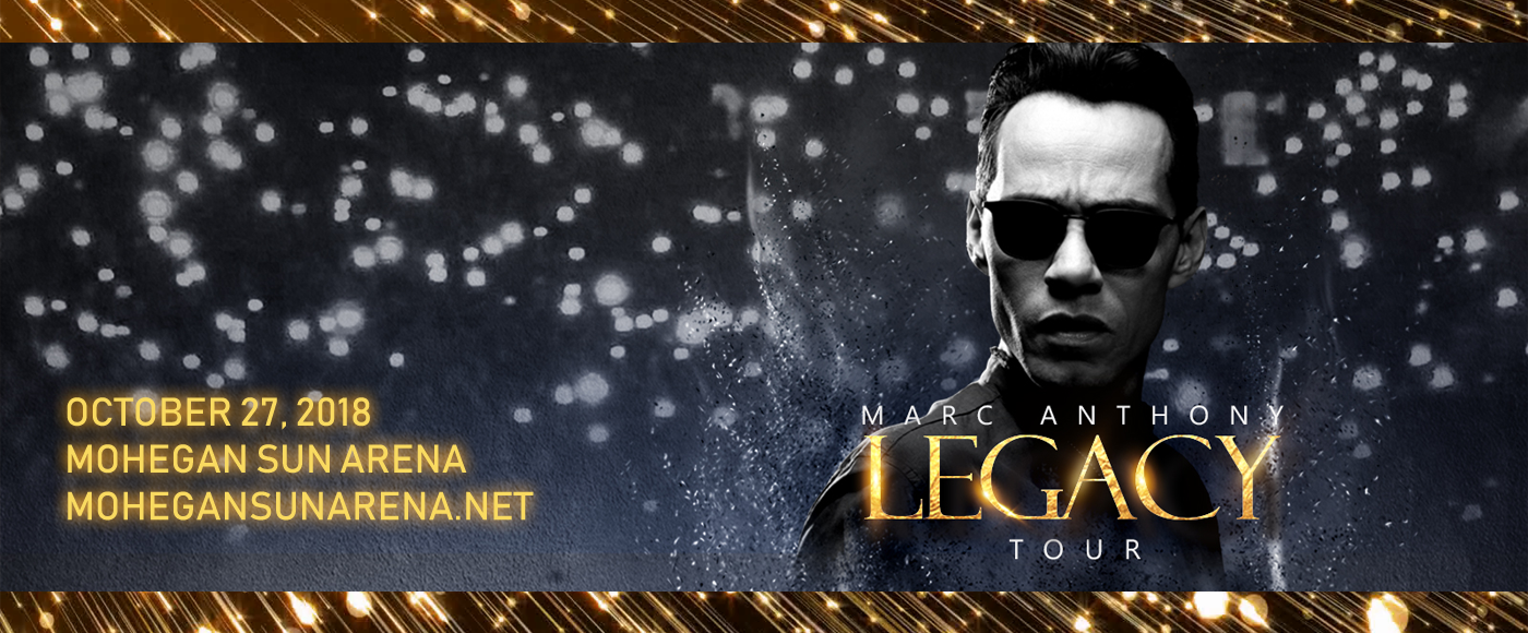 Marc Anthony at Mohegan Sun Arena