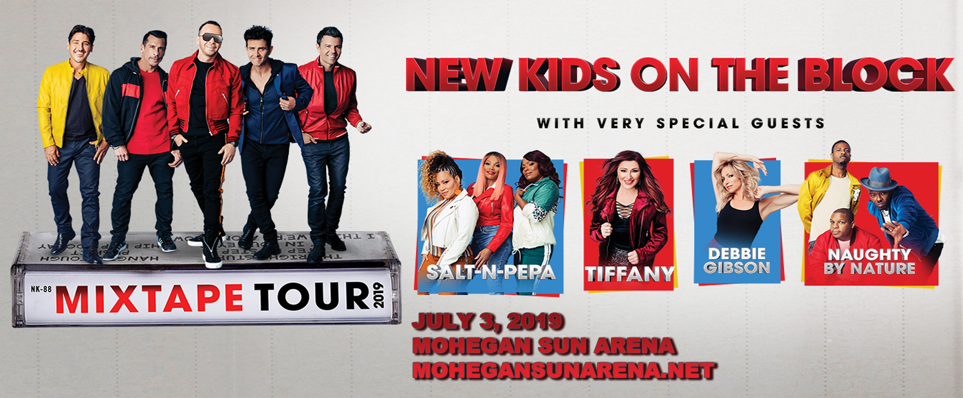 New Kids On The Block, Salt N Pepa & Naughty by Nature at Mohegan Sun Arena