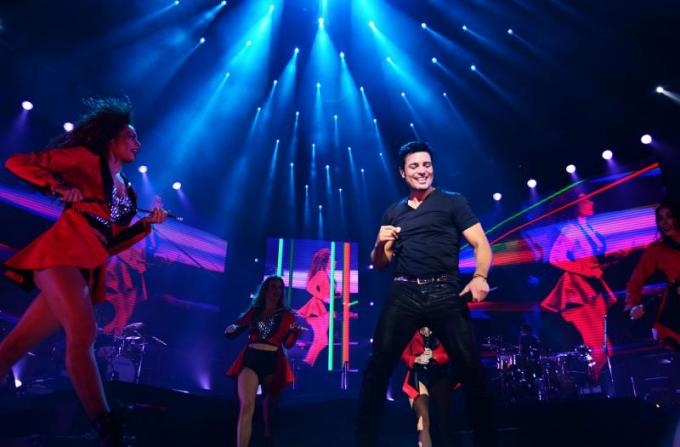 Chayanne at Mohegan Sun Arena