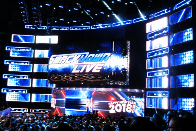 WWE Smackdown at Mohegan Sun Arena