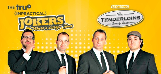 Cast of Impractical Jokers & The Tenderloins at Mohegan Sun Arena