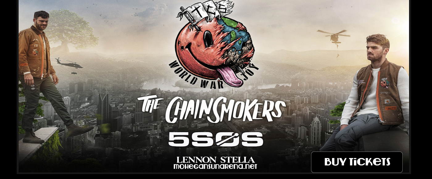 The Chainsmokers & 5 Seconds of Summer at Mohegan Sun Arena