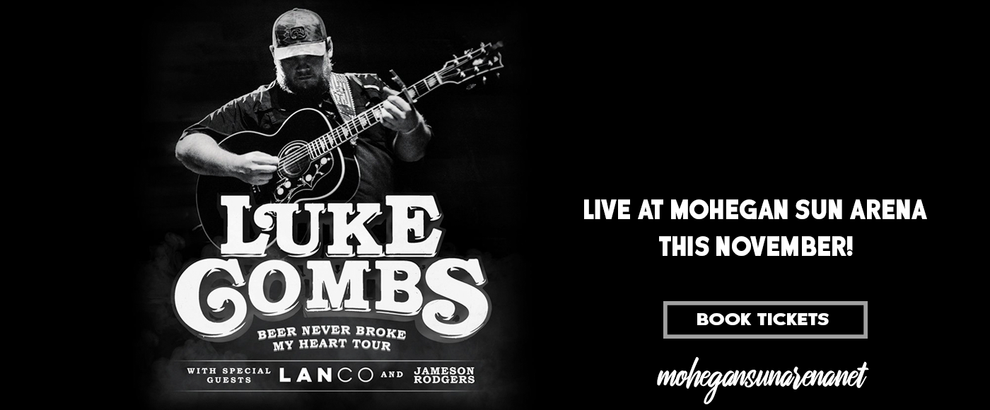 Luke Combs at Mohegan Sun Arena