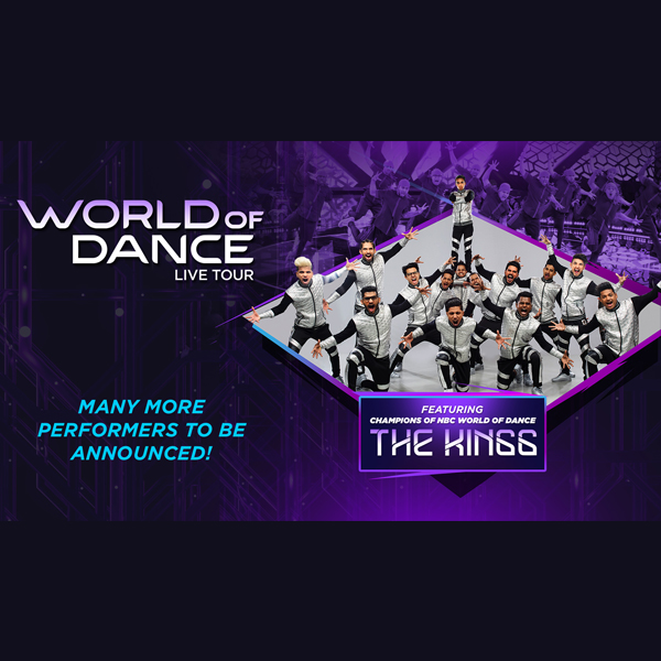 World of Dance Live at Mohegan Sun Arena