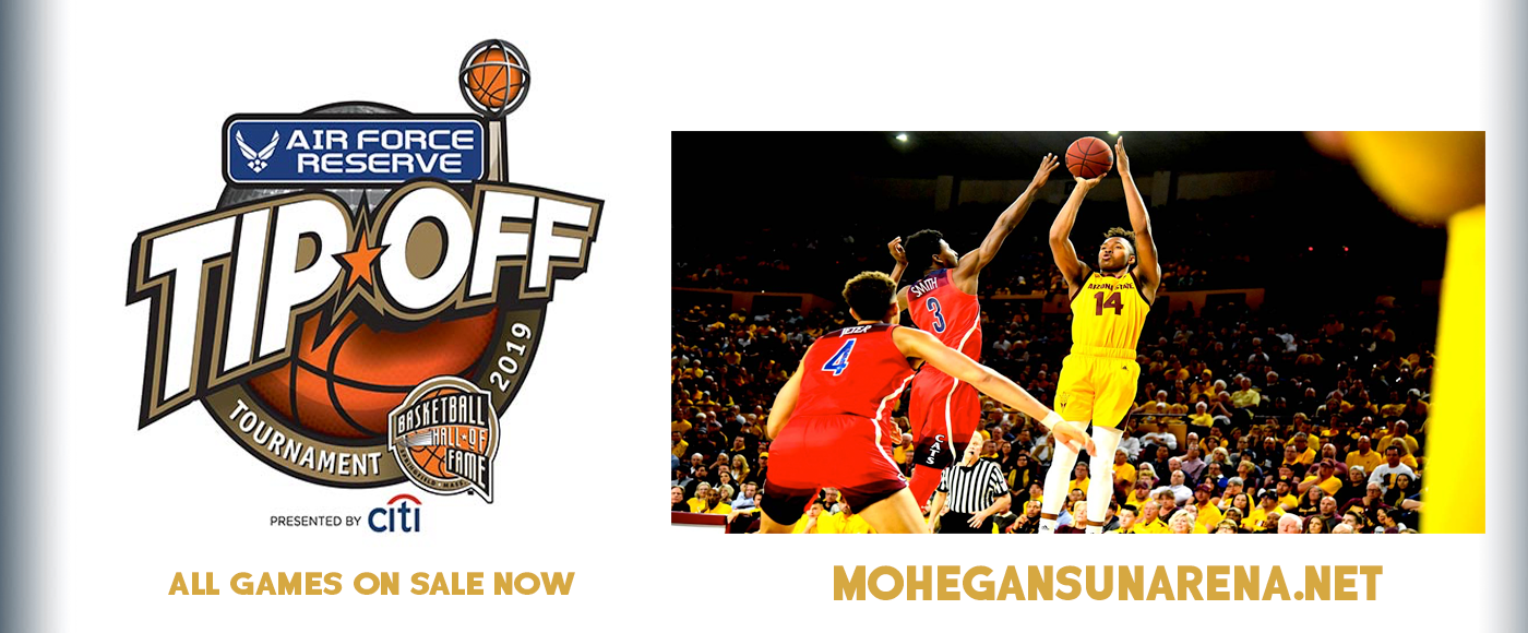 Air Force Reserve Basketball Hall Of Fame Tip-Off - Saturday at Mohegan Sun Arena