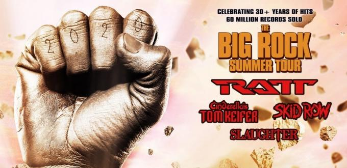 Big Rock Summer Tour: RATT, Tom Keifer, Skid Row & Slaughter at Mohegan Sun Arena