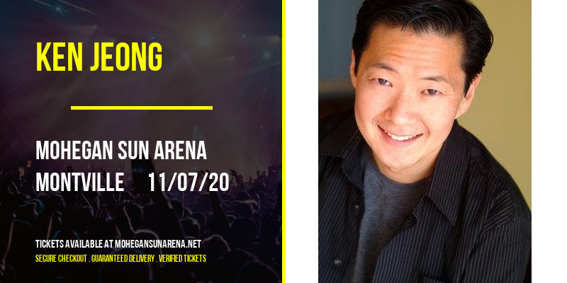 Ken Jeong at Mohegan Sun Arena